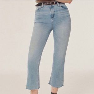 Urban Outfitters BDG Cropped Kick Flare Jeans